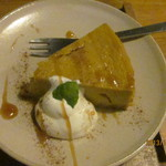 niji cafe - 豆乳入りかぼちゃのケーキ