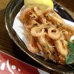 味処 一心 - 料理写真:がら海老の唐揚げ