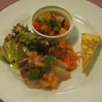 エプロンズ - 料理写真:前菜3種盛り