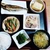 赤瓦の宿 ふくぎ屋 - 料理写真:ある日の夕食