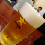 さのや - サッポロ生ビール600円