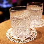 マリベル - お冷のグラスがオシャレ '13 11月中旬