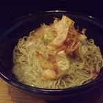 細庵 - 「おろしそば大盛」800円  福井では珍しい極細麺です。