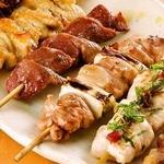 【限定!!】八女鶏 串焼5種