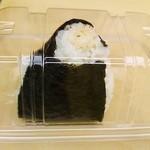縁楽 - おむすび「焼きたらこ」190円。