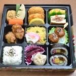 青山一品 - 嵐山(1300円和食弁当)