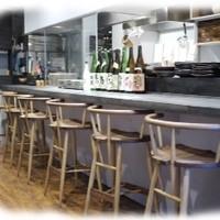 和食 縁 蕎麦切り - 一階カウンター。オープンキッチンでライブ感あるお食事を.