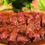 レストランぽてと - 料理写真:一番人気!!和風ステーキ!