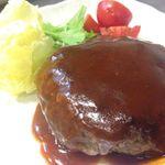 牛たん 良助 - 料理写真:牛たん100%ハンバーグ!