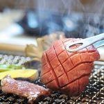 和火一 - 料理写真:仙台黒毛和牛を炭火焼で