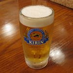 ポップボーイ - 生ビール(中)450円
