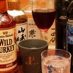 うまいもん酒場 雫 - ワインやハイボールなどアルコールは各種用意しています