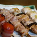 炭火焼やきとり喜界 - 料理写真:朝〆の鶏を使用したやきとり!