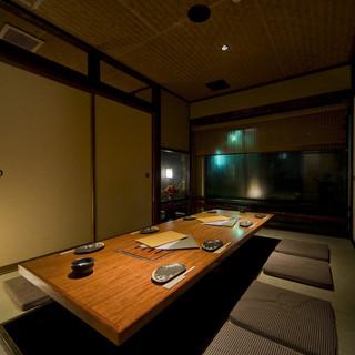 個室をたくさんご用意!!個室は、すべて堀りごたつ席となっております。