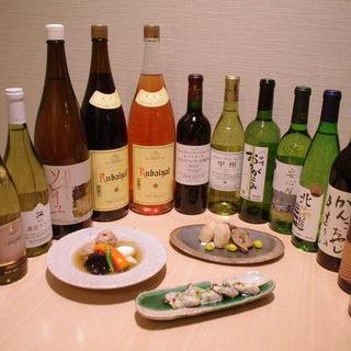 国産ワイン+和食