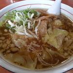 らー麺 武蔵 - びっくりワンタン麺750円