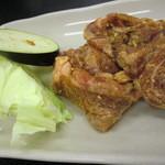 やきやき亭 - ハラミ定食 700円のお肉