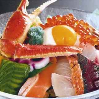 大漁丼…1,380円