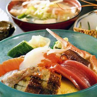 【人気NO.1メニュー】海の極味膳…1,580円