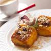 カフェ・ル・アンジュ - 料理写真:「女王様のフレンチトースト」ぷるっふわの新食感!とろあま系です♪
