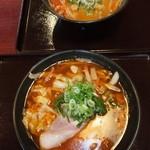 22746043 - 辛味噌ラーメン 630円 と 辛醤油ラーメン 630円 【 2013年11月 】