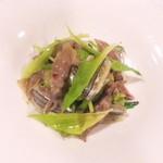 ビストロ ラ・ターシュ・ド・ルージュ - 料理写真:ホタルイカとキビナゴのメリメロ