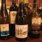 nest - ソムリエセレクトのワイン達。(入れ替わり頻度高)