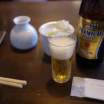 うずら家 - ビール & 薬味 ~☆