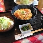とんかつの専門店津田 - ロースカツ丼
