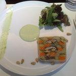 カフェ・トロワグロ - 前菜、野菜のテリーヌ