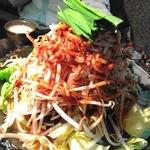 しちりん焼肉 だい - 【2013年11月 再訪問】モツ鍋