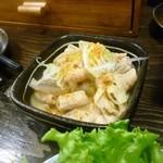 夢屋 - モツ煮