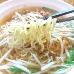 芳園 - 台湾ラーメンの麺