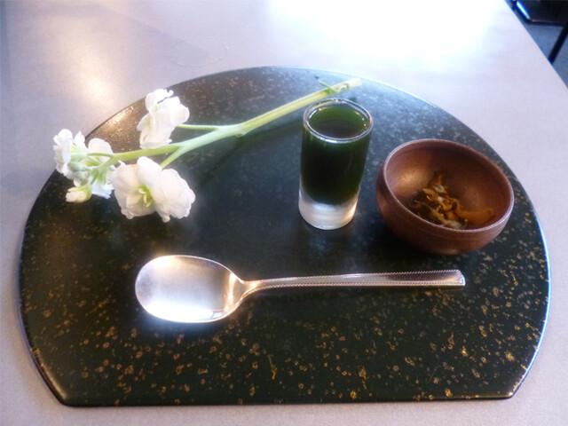 茶房 雲母 - テーブルセッティング