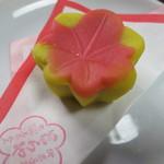 和洋御菓子司とらや - 竜田川(練りきり・こしあん)です。