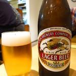 鳥料理もりや - キリンビール(中びん)500円