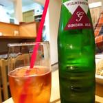 鳥料理もりや - アップルワイン(ジンジャーエール割り)550円