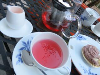 奈良ホテル ティーラウンジ - ほんのり甘く飲みやすいです。