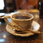 22754817 - コーヒー、素敵な器。