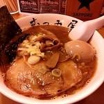 むつみ屋 - 醤油ラーメン730+味玉100=830円