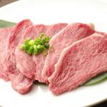 焼肉グレート - 通常の肉よりも融点の低い和牛の脂は