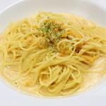トラットリア イルソーレ - 料理写真:地元のウニを使いました『愛媛県産ウニのトマトクリームソース』