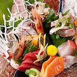魚新 - 料理写真:本日のおまかせ盛り