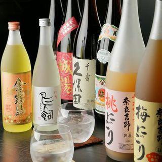 日本酒・焼酎・ワインと豊富な品揃えがこだわりです!