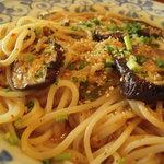 2276452 - 牛挽き肉とトロトロ茄子の麻婆風中華パスタ