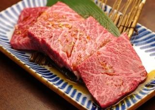 焼肉グレート - 通に人気のカイノミ。肉本来の味を楽しめます!