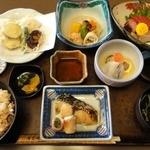 ほていや - 料理写真:おしのぎ膳  ¥1575 (月曜日~土曜日のお昼のみ、数量限定)