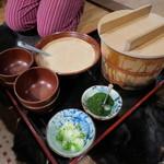柳家 - 最後は自然薯麦とろ飯