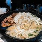 ちゃん亭 - 豚骨味噌味、その名も男味噌! 味はもちろんボリュームも文句なし! 場所は守谷ではなく坂東市です。
