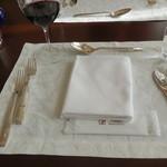ル・トリアノン - テーブルセッティング